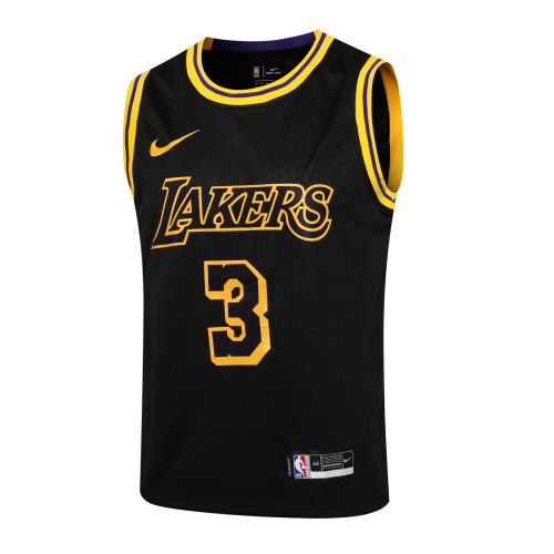 Anthony Davis Los Angeles Lakers 2020/21 Swingman Jersey - Black