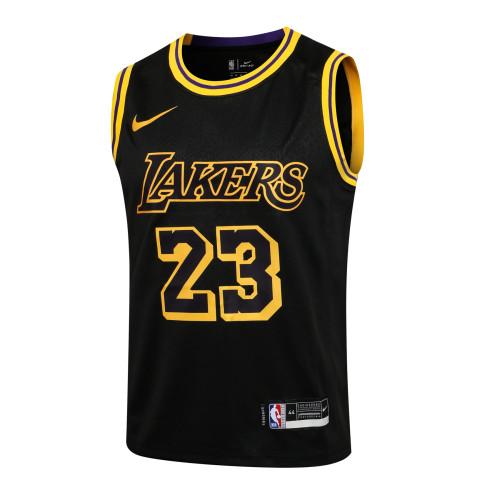 LeBron James Los Angeles Lakers 2020/21 Swingman Jersey - Black
