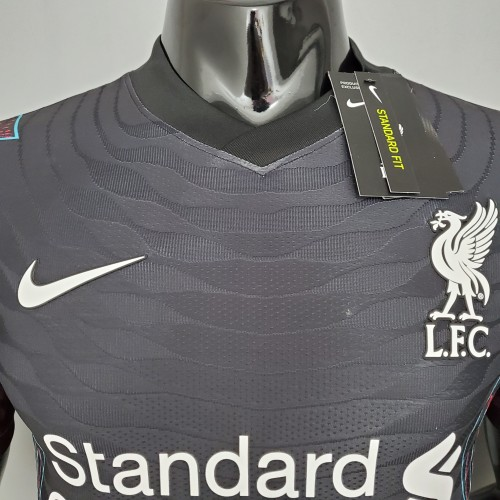 Liverpool Special Edition Player Version Jersey 21/22 Black