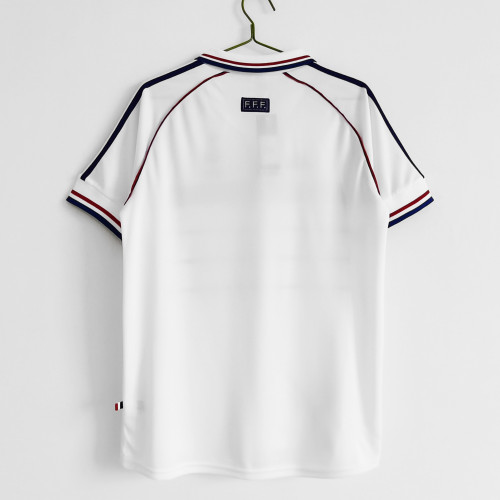 France Away Retro Jersey 1998