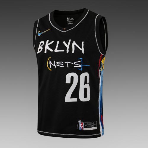 Spencer Dinwiddie Brooklyn Nets 2020/21 Swingman Jersey - Black