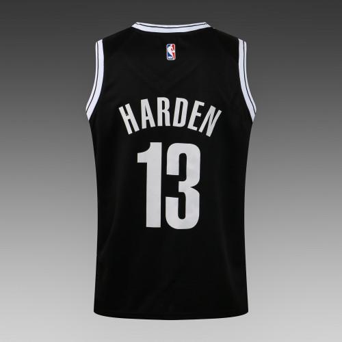 James Harden Brooklyn Nets 2020/21 Swingman Jersey - Black