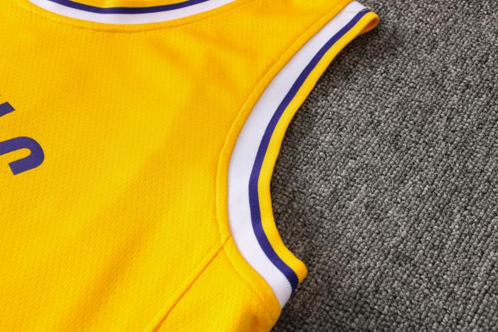 Kyle Kuzma Los Angeles Lakers 2020/21 Swingman Jersey - Yellow