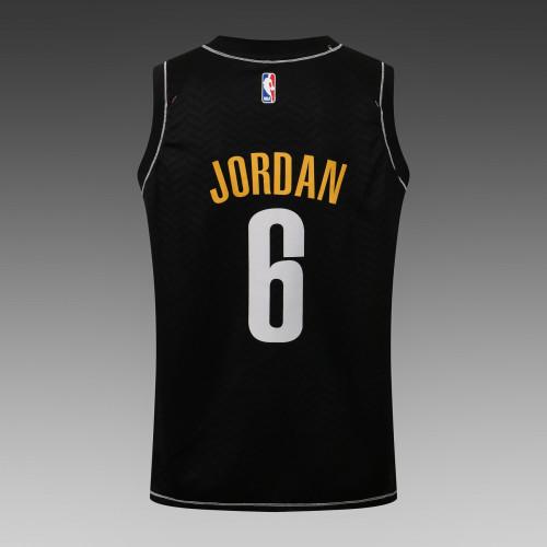 DeAndre Jordan Brooklyn Nets 2020/21 Swingman Jersey - Black