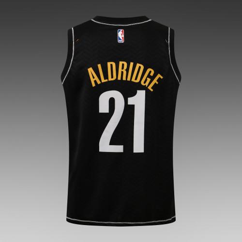 LaMarcus Aldridge Brooklyn Nets 2020/21 Swingman Jersey - Black