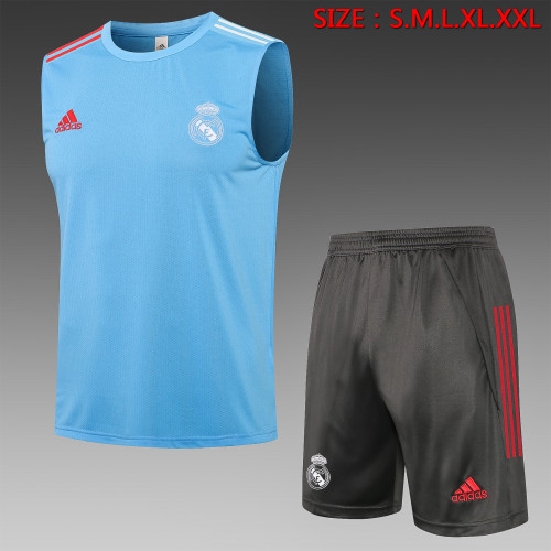 Real Madrid Training Jersey 21/22 Blue
