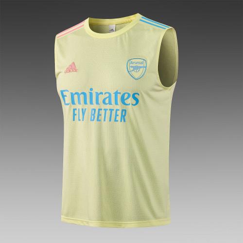 Arsenal Training Jersey 21/22 Yellow