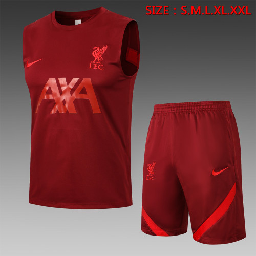 Liverpool Training Jersey 21/22 Red
