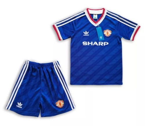 Manchester United Retro Kids Away Jersey 1986