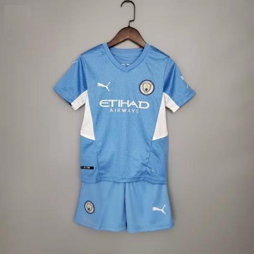 Manchester City Home Kids Jersey 21/22