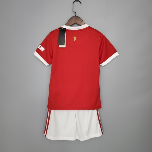 Manchester United Home Kids Jersey 21/22
