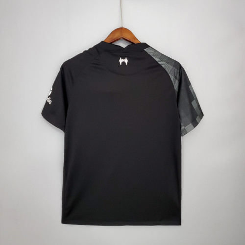 Liverpool Goalkeeper Man Jersey Black 21/22