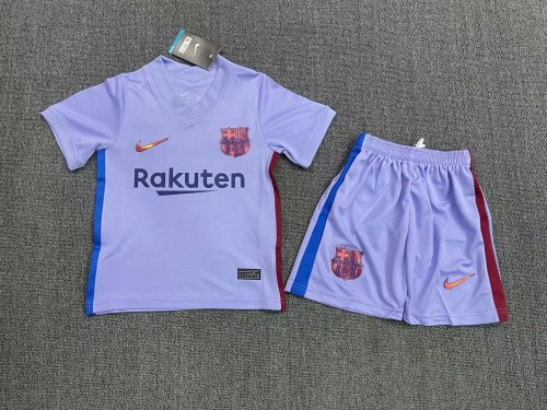Barcelona Away Kids Jersey 21/22