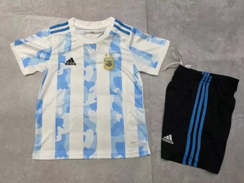 Argentina Home Kids Jersey 21/22