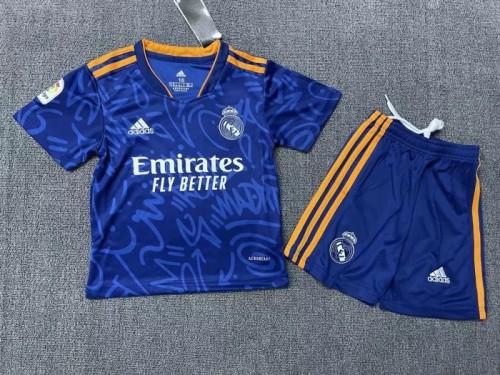 Real Madrid Away Kids Jersey 21/22