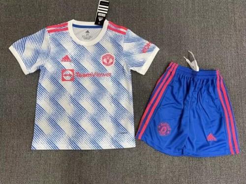 Manchester United Away Kids Jersey 21/22
