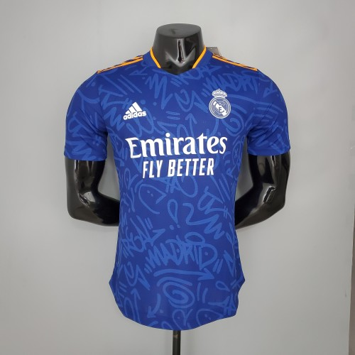 Real Madrid Away Player Jersey 21/22