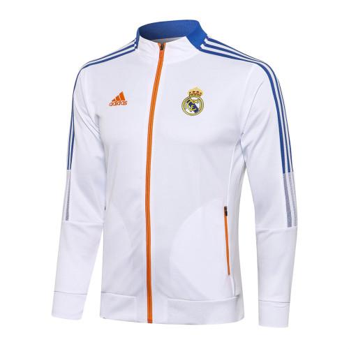 Real Madrid Training Jacket 21/22 White