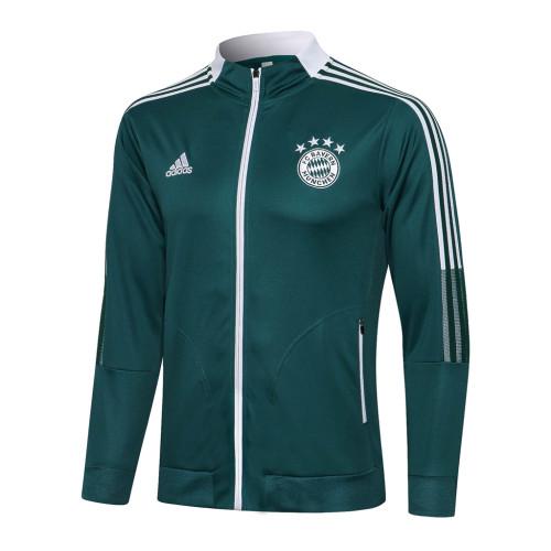 Bayern Munich Training Jacket 21/22 Dark Green