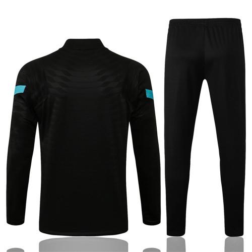 Inter Milan Training Jersey Suit 21/22 Black
