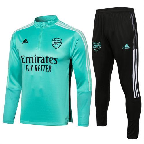 Arsenal Training Jersey Suit 21/22 Green