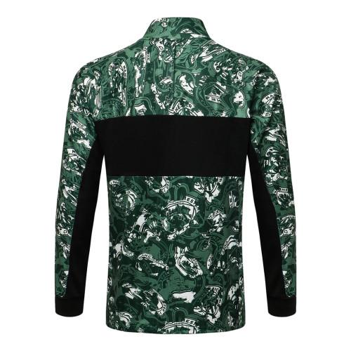 Manchester City Training Jacket 21/22 Green