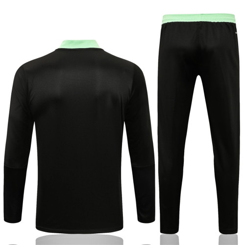 Manchester United Training Jersey Suit 21/22 Black
