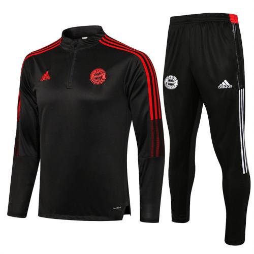 Bayern Munich Training Jersey Suit 21/22 Dark gray