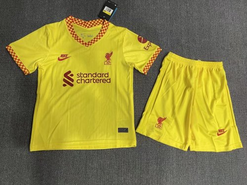 Liverpool Third Kids Jersey 21/22