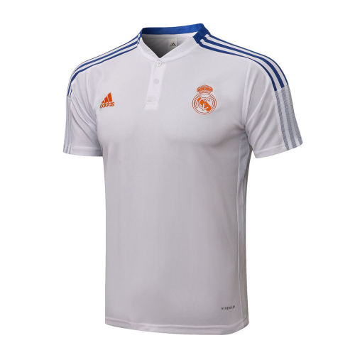 Real Madrid POLO Jersey 21/22 White