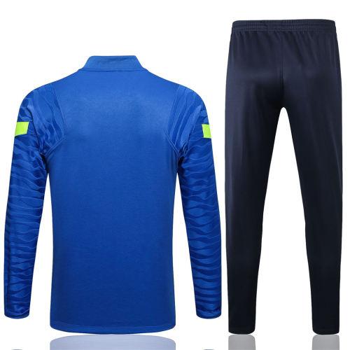 Tottenham Hotspur Training Jersey Suit 21/22 Colorful blue