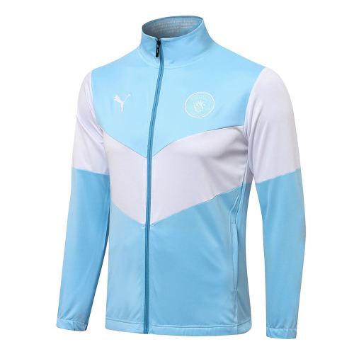 Manchester City Training Jacket 21/22 Light blue