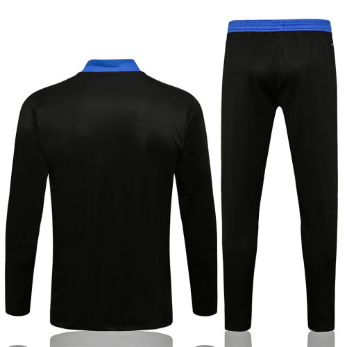 Real Madrid Training Jersey Suit 21/22 Black