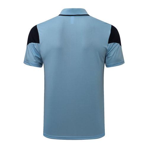 Manchester City POLO Jersey 21/22 Light blue