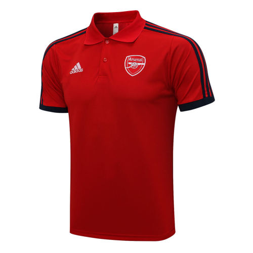 Arsenal POLO Jersey 21/22 Red