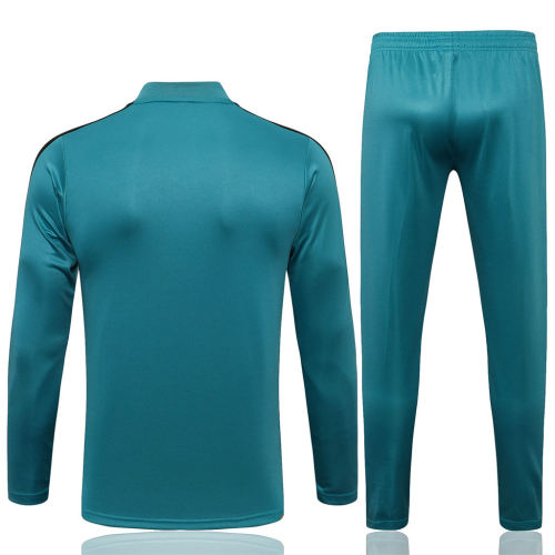 Real Madrid Training Jersey Suit 21/22 Light blue