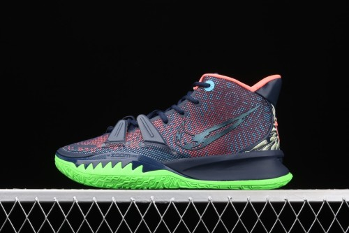 Kyrie 7 Pre Heat Ep Blue pink green