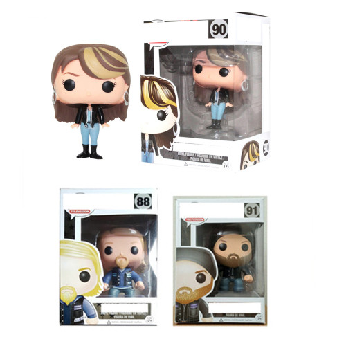 Jax' Teller Opie' Winston   action figures toy for collection model #88 #90 #91
