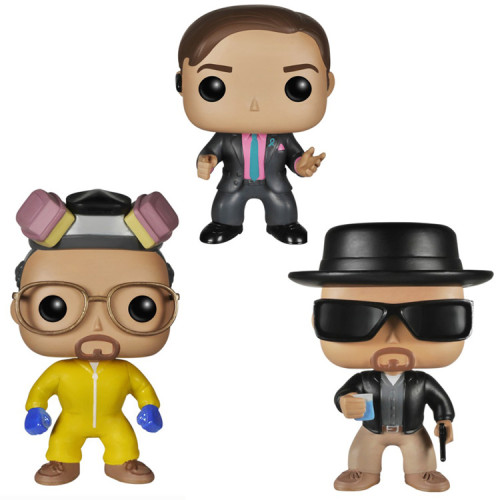 Breaking bad action figures toy for collection model  three styles #160#162 #163
