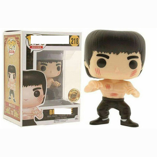Bruce lee action figures toy for collection model  #218 219