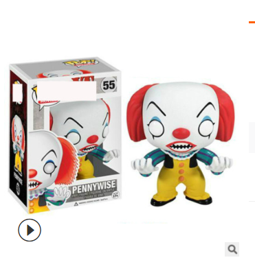 Pennywise action figures toy for collection model  # 55