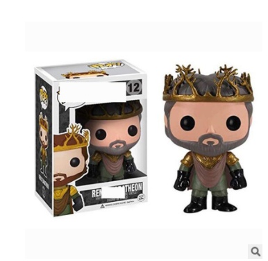 Theon action figures toy for collection model  # 12