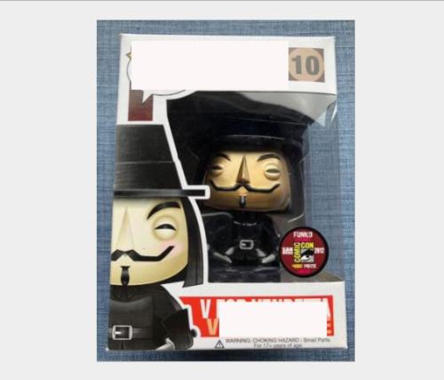 Golden V for vendetta action figures toy for collection model  # 89