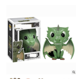Green dragon action figures toy for collection model  # 20