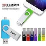 OTG USB Flash Drive 4GB 8GB 16GB 32GB 64GB  Metal Pen Drive micro usb memory stick Flash Drive Memory Flash