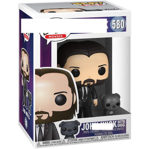 John wick action figures toy for collection model # 580