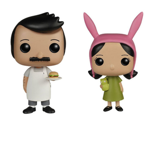 Bob's Burgers #74 78 Action figures toy for collection model