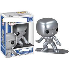 #19 silver Action figures toy for collection model