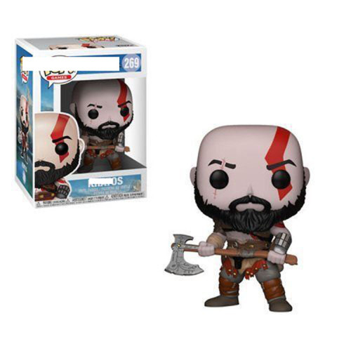 God of War Kratos 269#  Action figures toy for collection model   gift