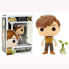 Newt Scamander &pickett  Action figures toy for collection model  #10